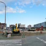 野幌駅前ロータリー