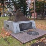 緯度経度標高を示したピラミッド