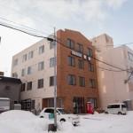 ビジネスホテル野幌の建物