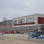 レンガ造りの校舎