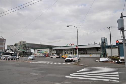 函館本線・江別駅・駅舎