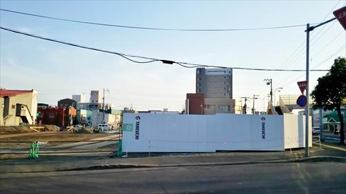 スシロー江別店・新築工事