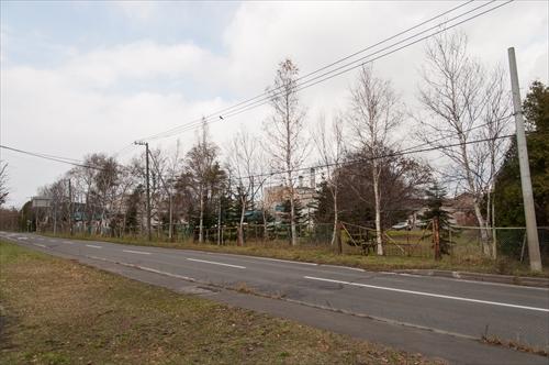 工場への入口跡