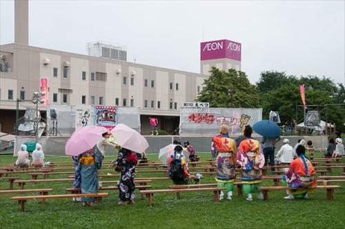 YOSAKOIソーラン演舞・舞台