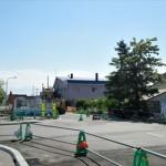 野幌駅南通り工事再開