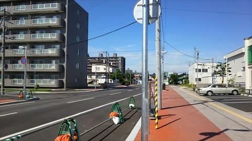 野幌駅南通り工事完了部分