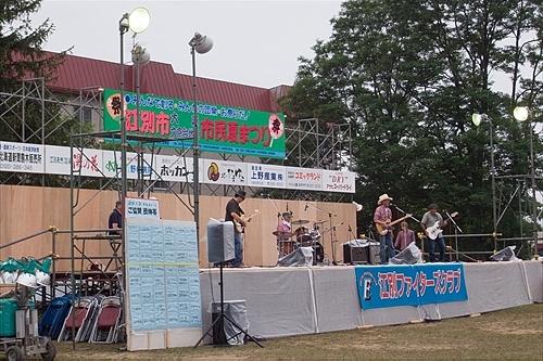 ステージ(大麻文京台市民夏祭り)