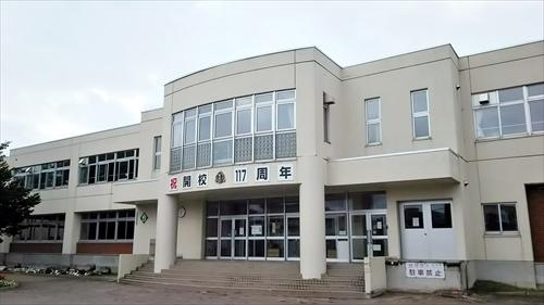 江別市立豊幌小学校・校舎