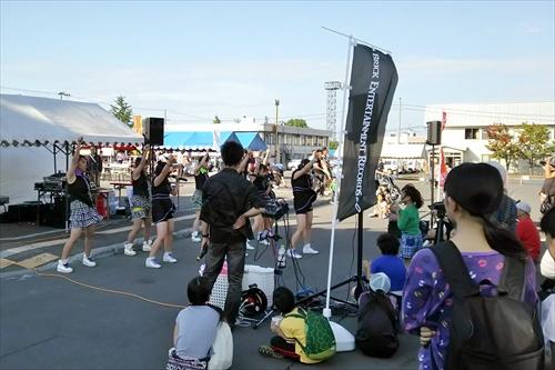 江別のアイドルグループEIPライブ