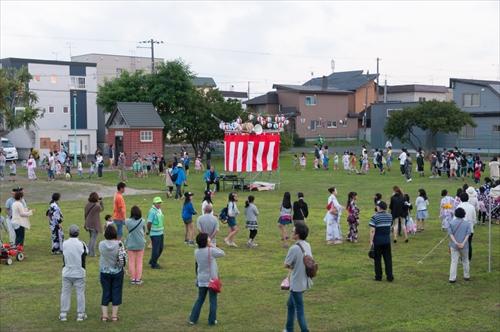 野幌若葉町盆踊り