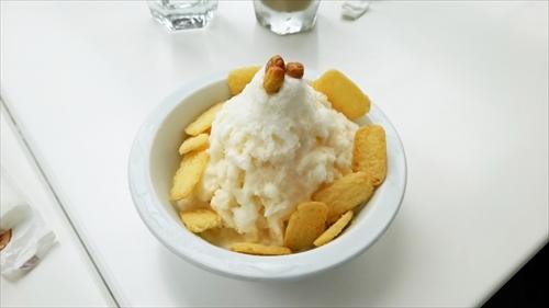 かき氷・キャラメルソース