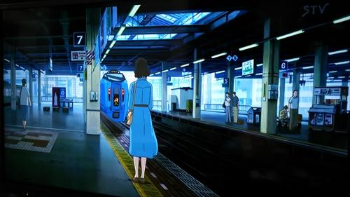 札幌駅ホーム・思い出のマーニー