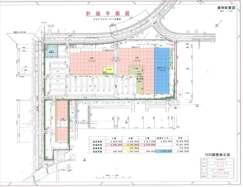 ジョイフルAK大麻店(江別市)新店舗建設地