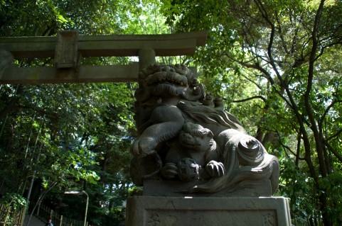 神社・狛犬