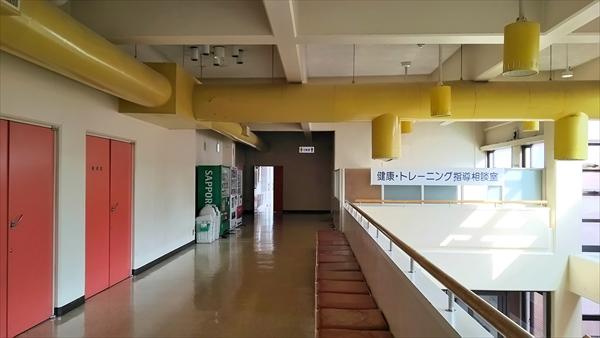 江別市民体育館・二階