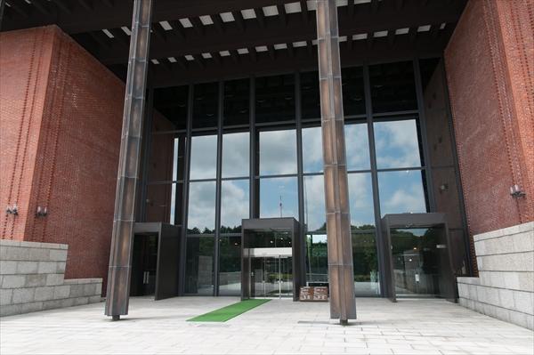 北海道博物館出入口