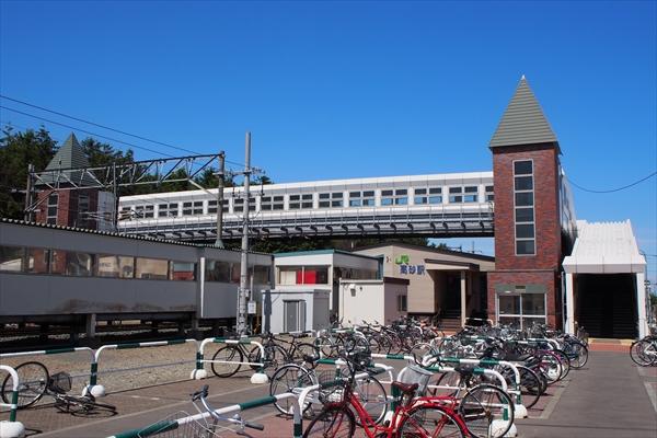 JR函館本線・高砂駅