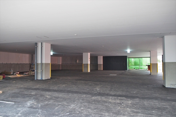 焼肉徳寿野幌店・新駐車場