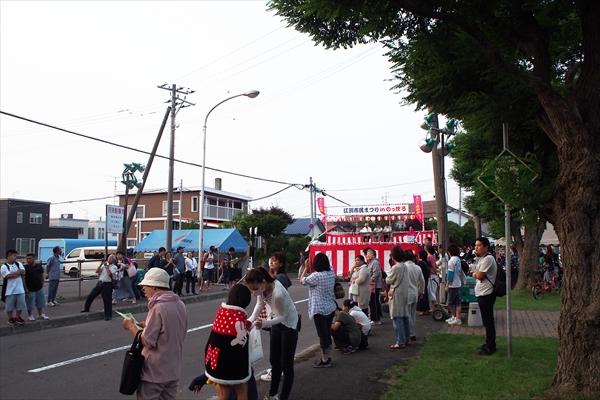 旭公園会場(えべつ北海鳴子祭り2016)