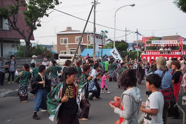 旭公園会場YOSAKOIソーラン(えべつ北海鳴子祭り2016)