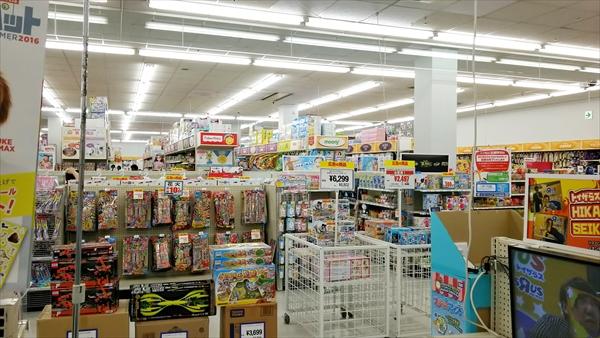 トイザらス札幌厚別店内