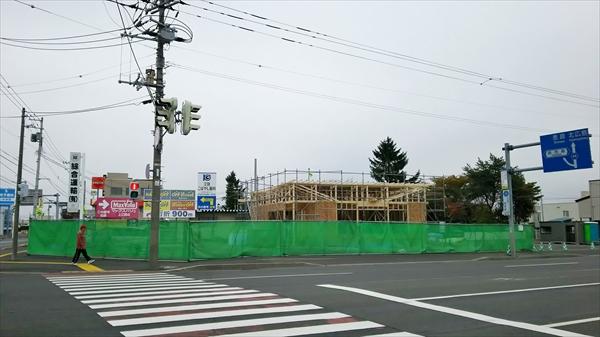 ローソン江別弥生町店跡地