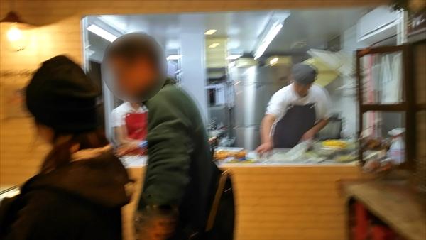 パティスリーブール店内キッチン