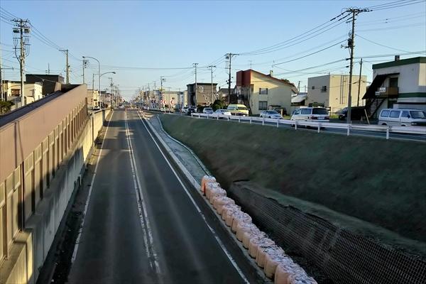 埋まる予定の白樺通りアンダーパス