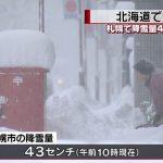 北海道大雪・2016年12月10日