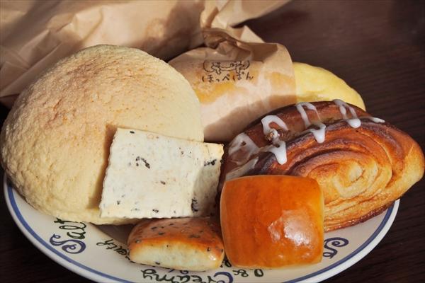 ほっぺぱんのパン各種