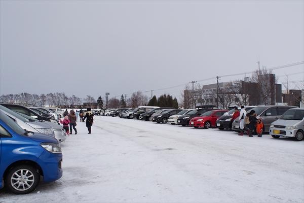 えべつスノーフェスティバル駐車場