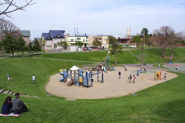 湯川公園・子供用遊具
