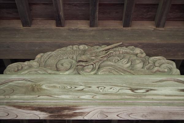 王子神社・龍の彫刻