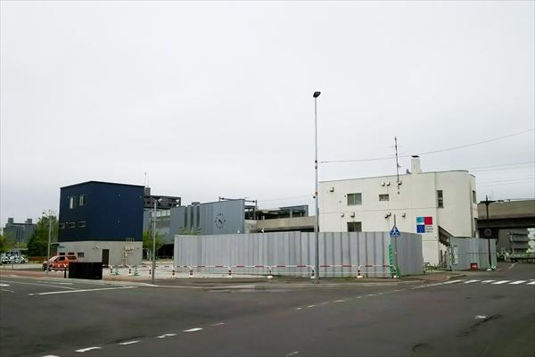 JR野幌駅北口駅前広場