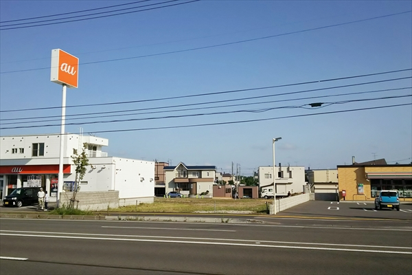 コメダ珈琲江別店・建設予定地