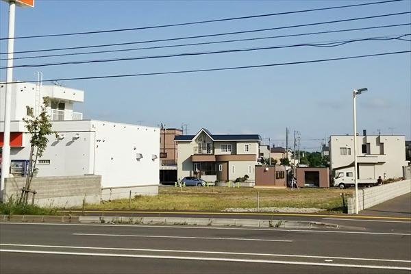 コメダ珈琲江別店・建設用地