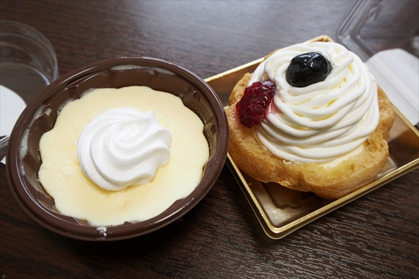 チーズケーキ・モンブラン