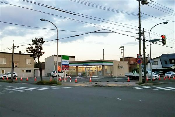 ファミリーマート江別大麻新町店
