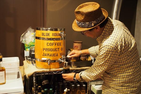 水出しコーヒー樽