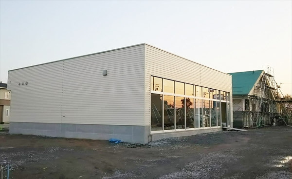 au江別店・新店舗