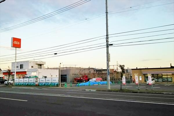 コメダ珈琲・江別一番町店建設予定地