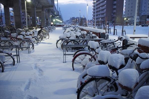 野幌駅・駐輪場