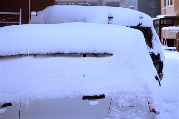 北海道・2017年11月19日大雪