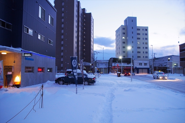 野幌駅前通り