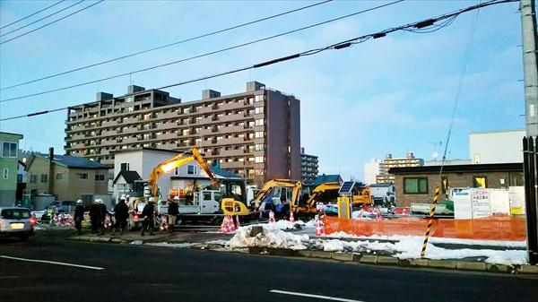 野幌駅南通第2工区工事