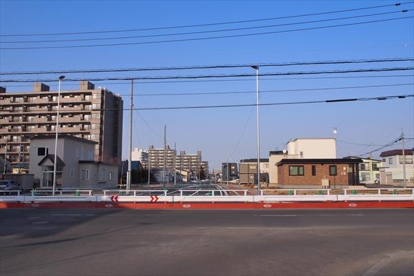 野幌駅南通と1号線の交差点