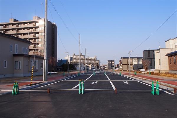 野幌駅南通・延長箇所
