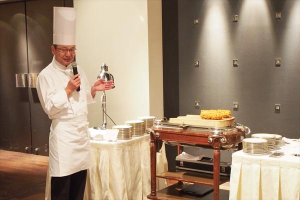 ホテルオークラ料理長・生方靖史
