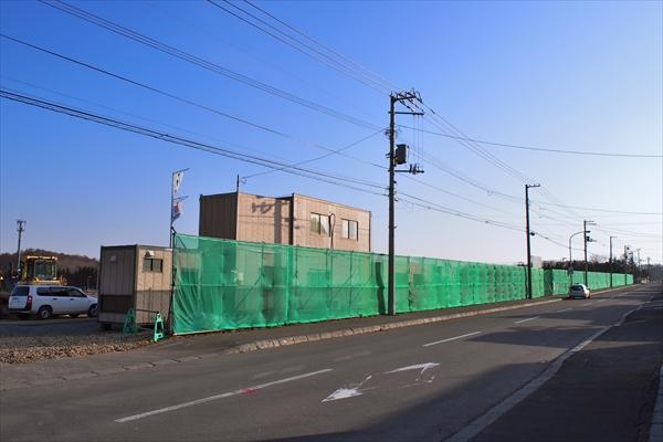 伊達屋敷通り(江別市野幌若葉町)