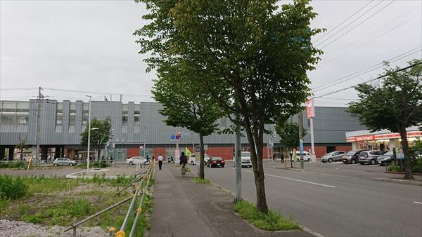 1号線と野幌駅南口